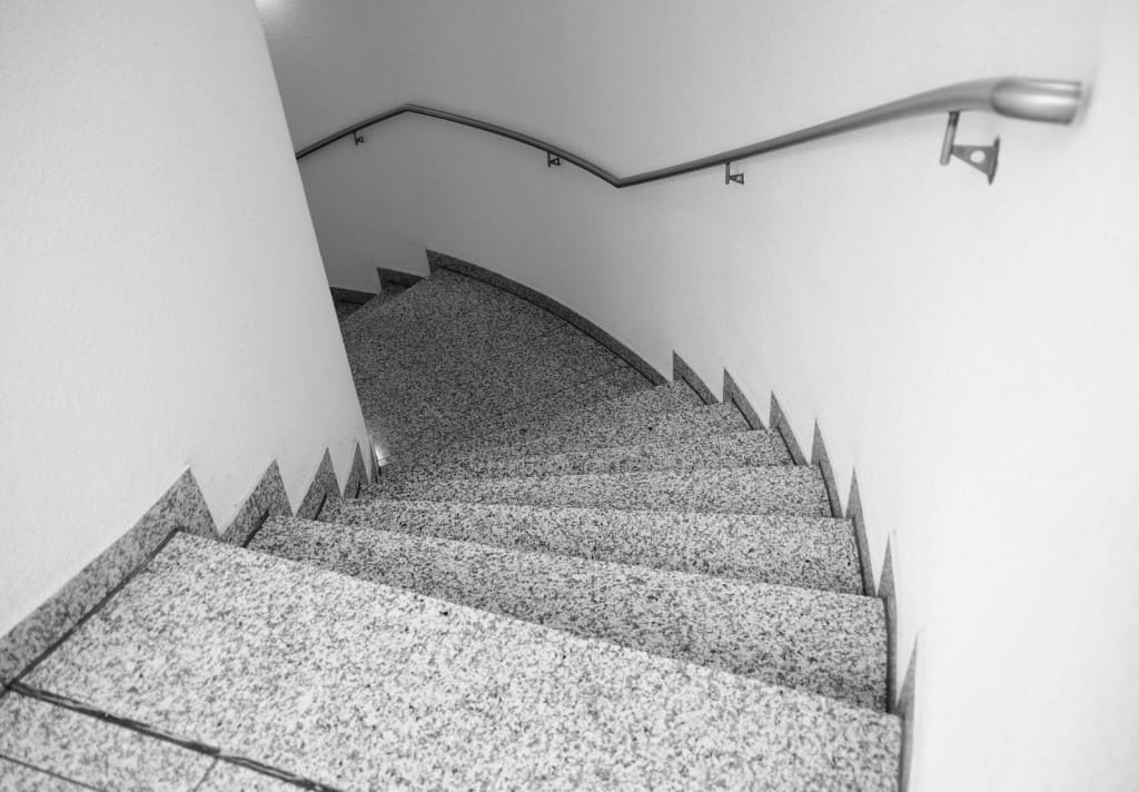 Blog - Stairs made of granite in the arrangements  of interiors