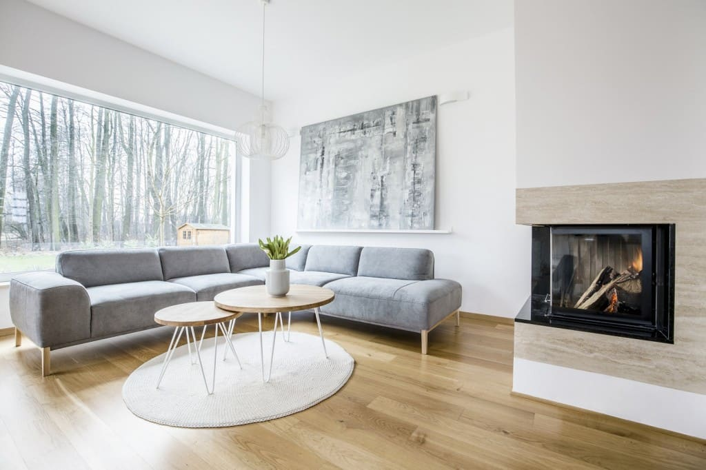 Blog - A modern fireplace and that is …….?