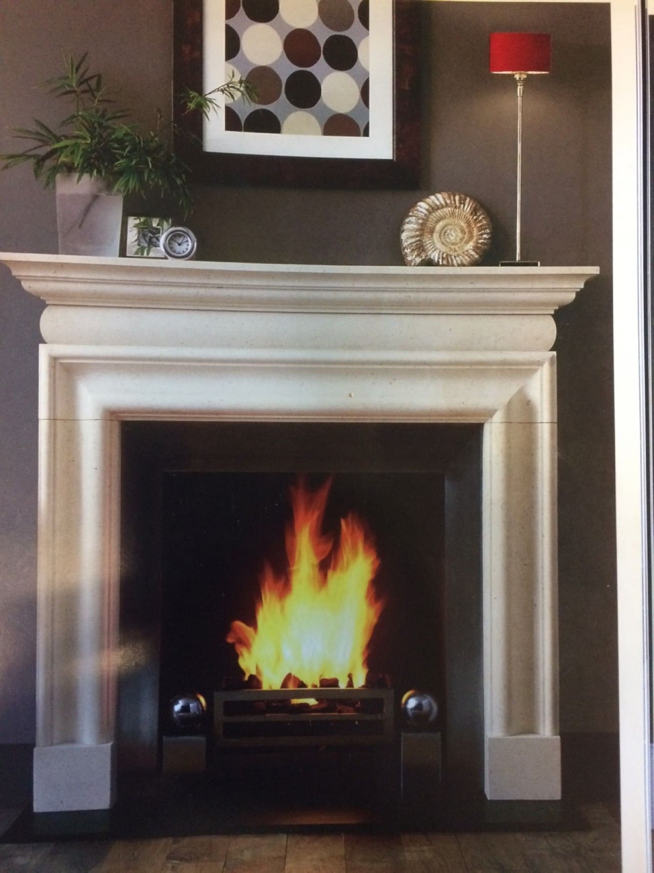 A tile fireplace with a DPD system or a traditional tile fireplace?