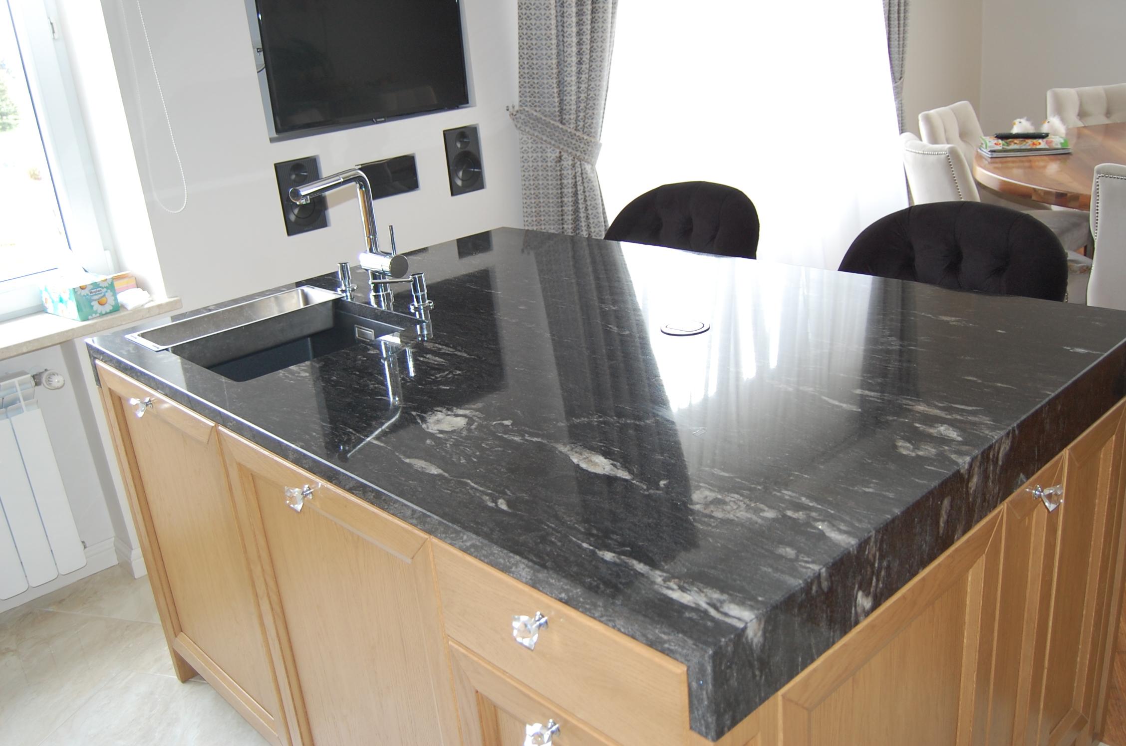 Granitowe Blaty Kuchenne Fainner
