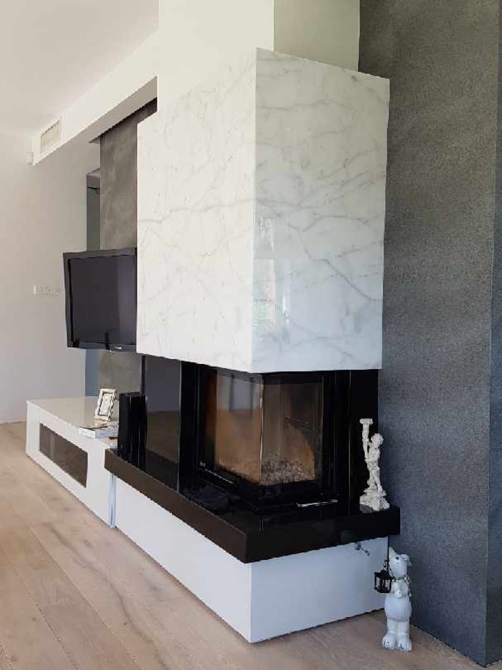 Blog - Marble firestones  –  a stylish finishing element of interior spaces