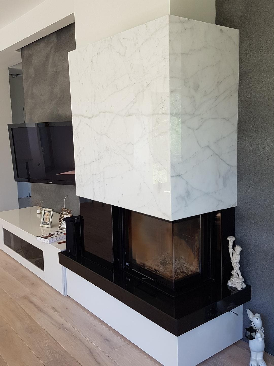 Marble firestones  –  a stylish finishing element of interior spaces – Fainner